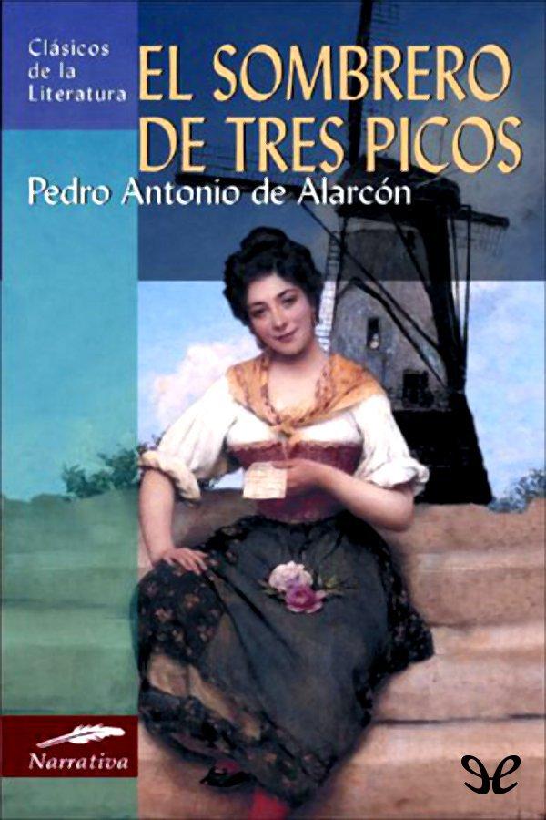 tapa de Alarc�n, Pedro Antonio de - El Sombrero de tres picos