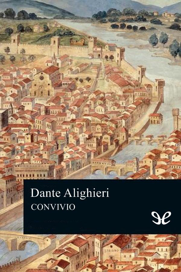 tapa de Alighieri, Dante - Convivio