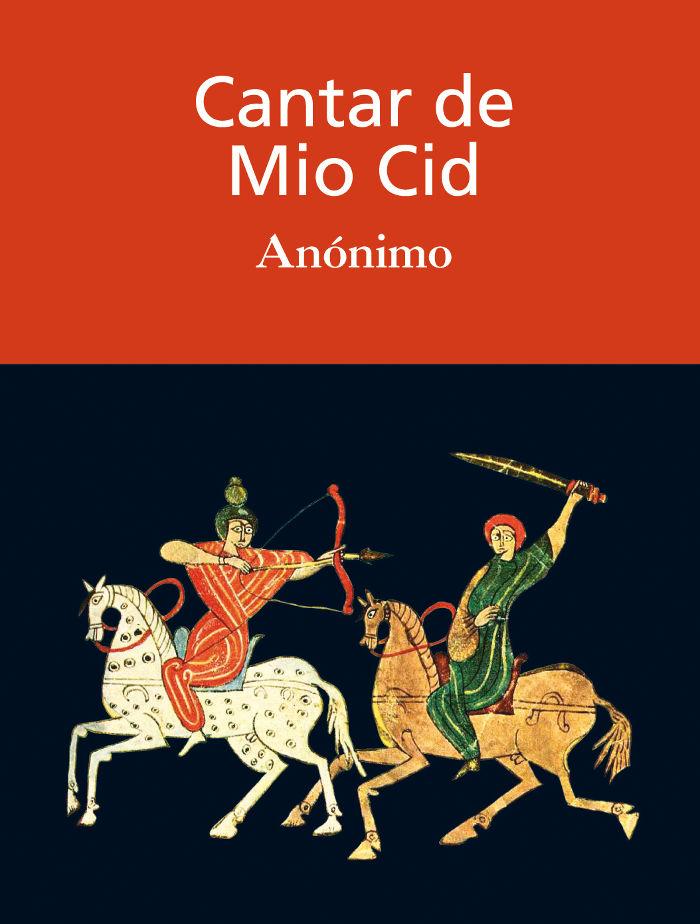 tapa de An�nimo - Cantar de m�o Cid
