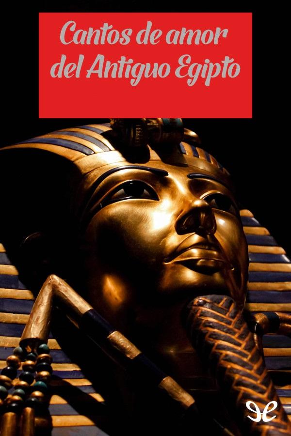 tapa de An�nimo - Cantos de amor del Antiguo Egipto