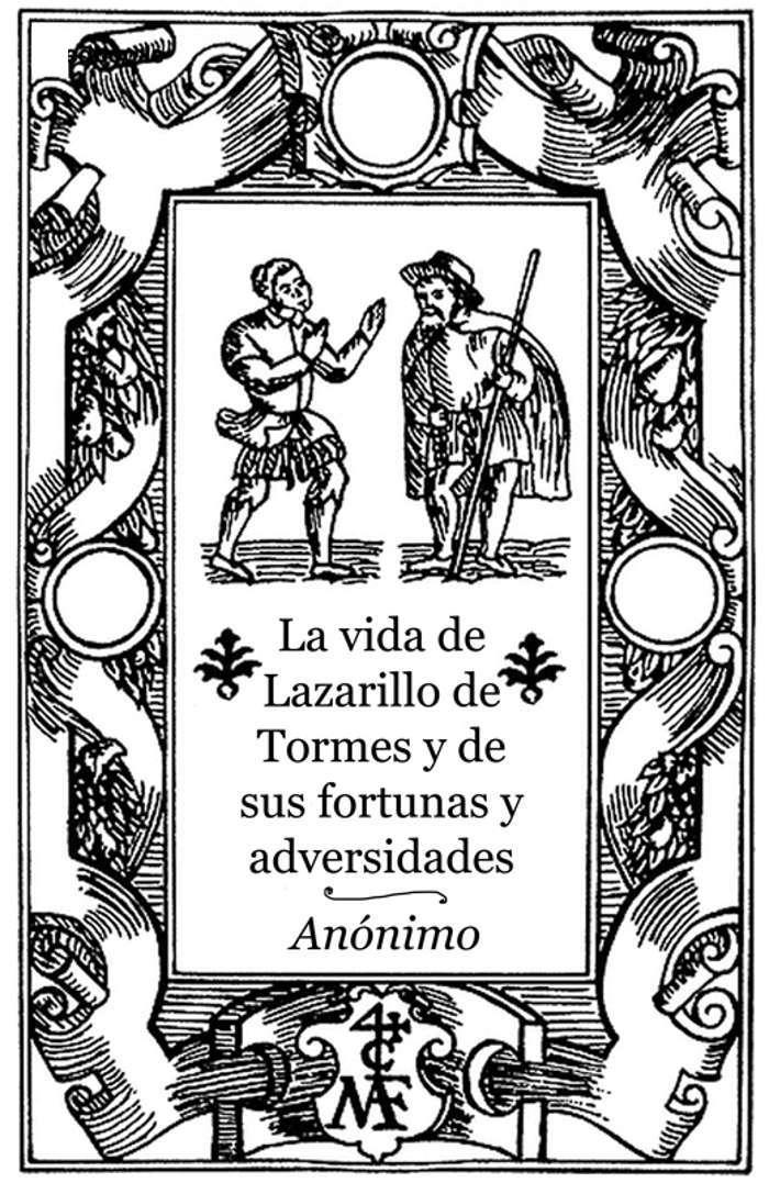 tapa de An�nimo - El lazarillo de Tormes