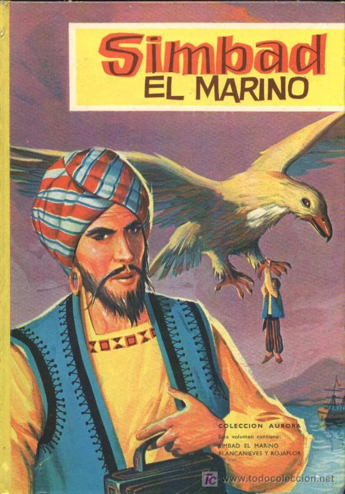 tapa de An�nimo - La historia de Simbad el marino