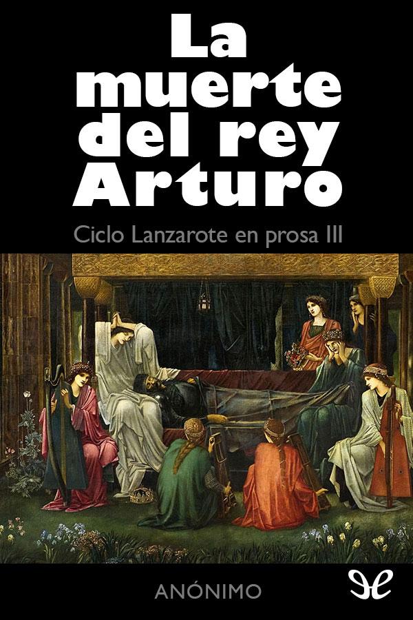 tapa de An�nimo - La muerte del Rey Arturo