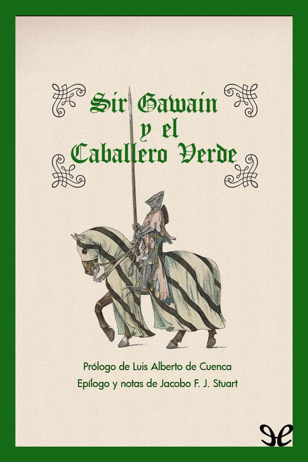 tapa de An�nimo - Sir Gawain y el caballero verde