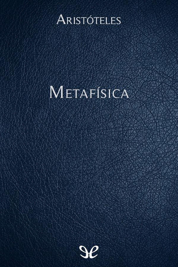 Arist�teles - Metaf�sica