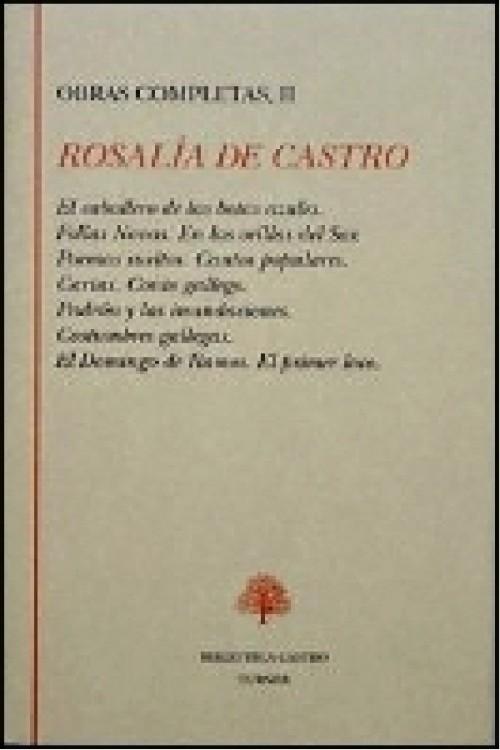 tapa de Castro, Rosal�a de - Poemas sueltos