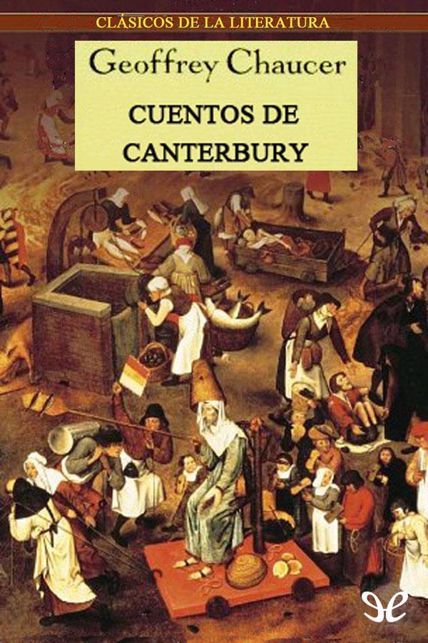 tapa de Chaucer, Geoffrey - Cuentos de Canterbury