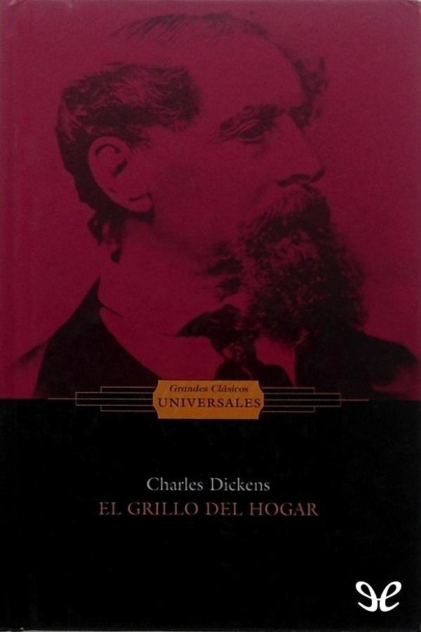 tapa de Dickens, Charles - El grillo del hogar (OE)
