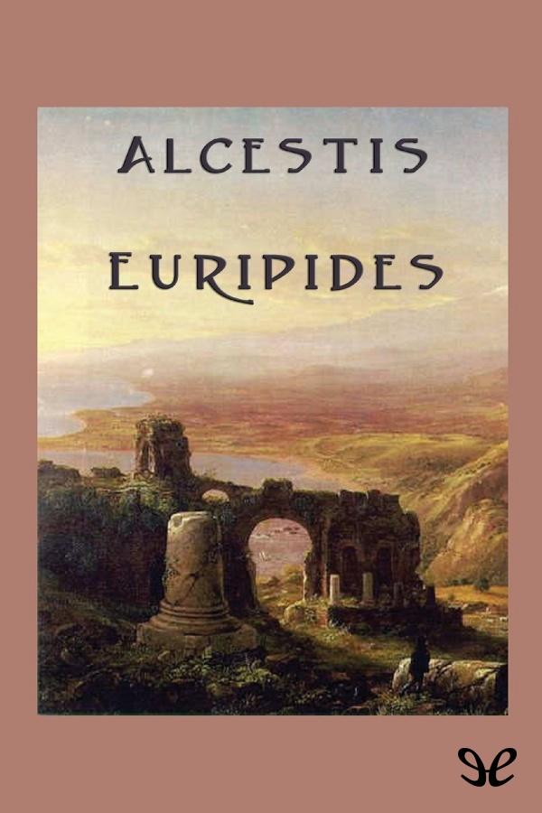 tapa de Eur�pides - Alcestis