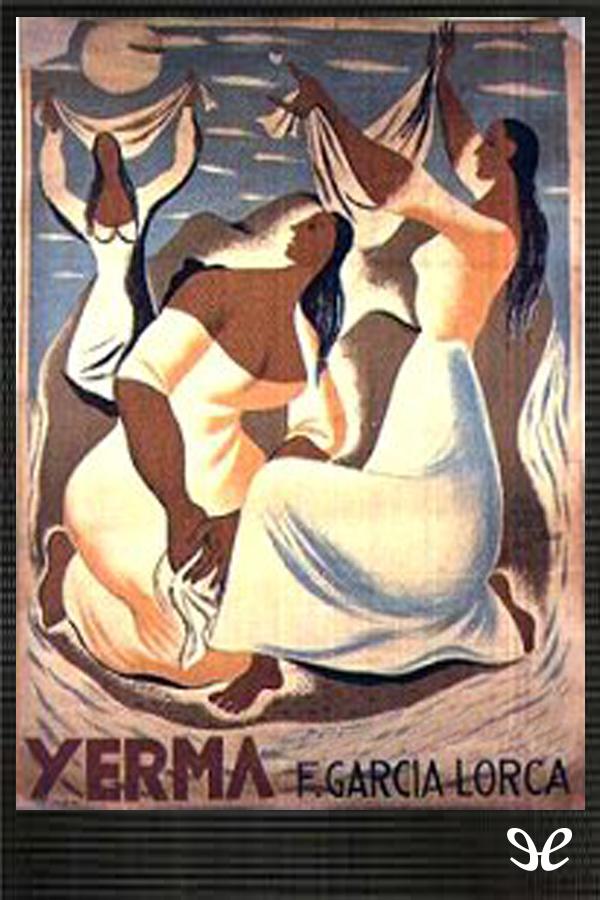 tapa de Garc�a Lorca, Federico - Yerma