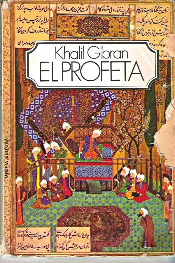 tapa de Gibr�n, Khalil - El Profeta