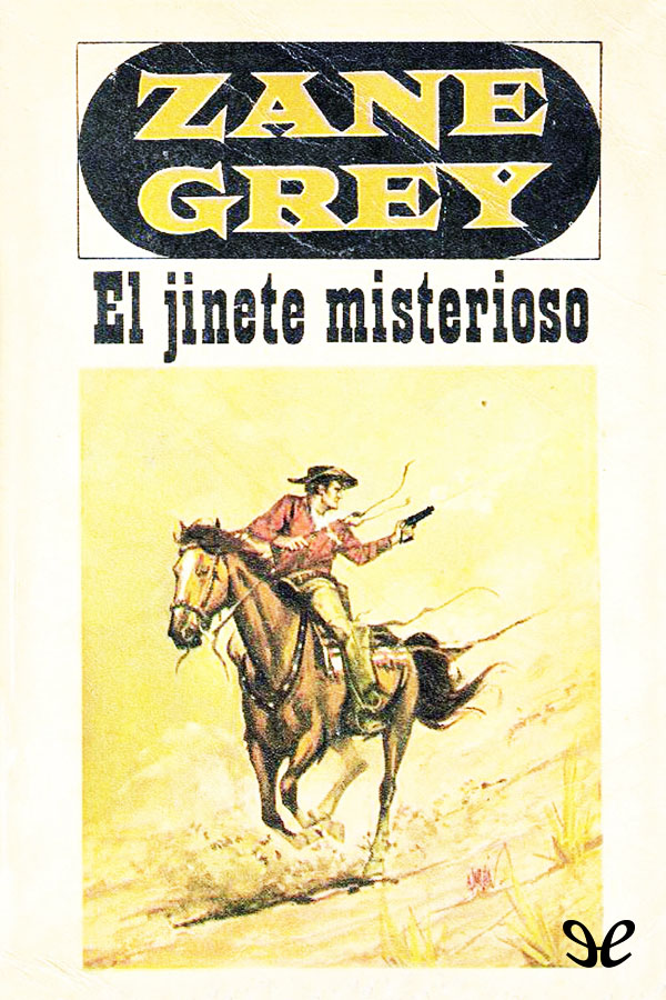 tapa de Grey, Zane - El Jinete misterioso