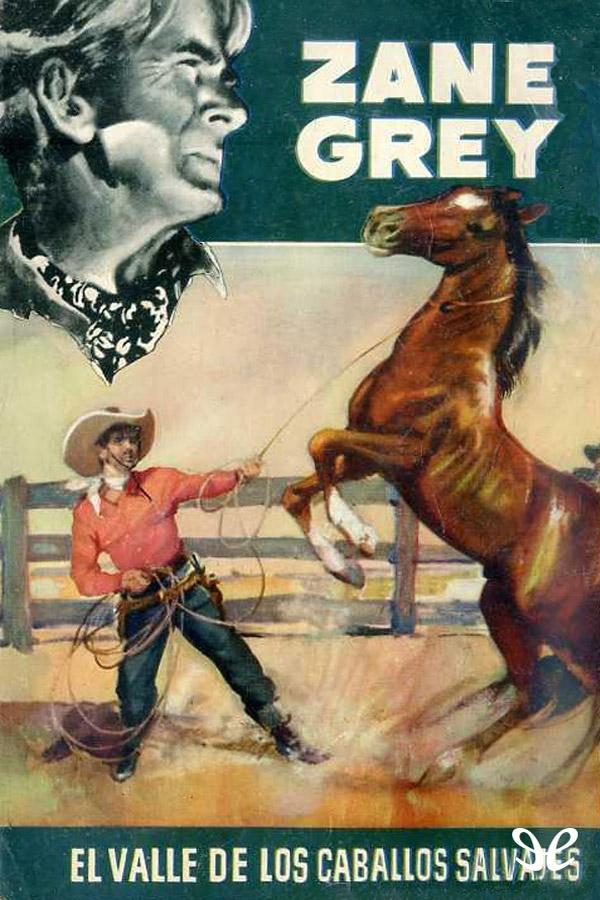 tapa de Grey, Zane - El Valle de los caballos salvajes