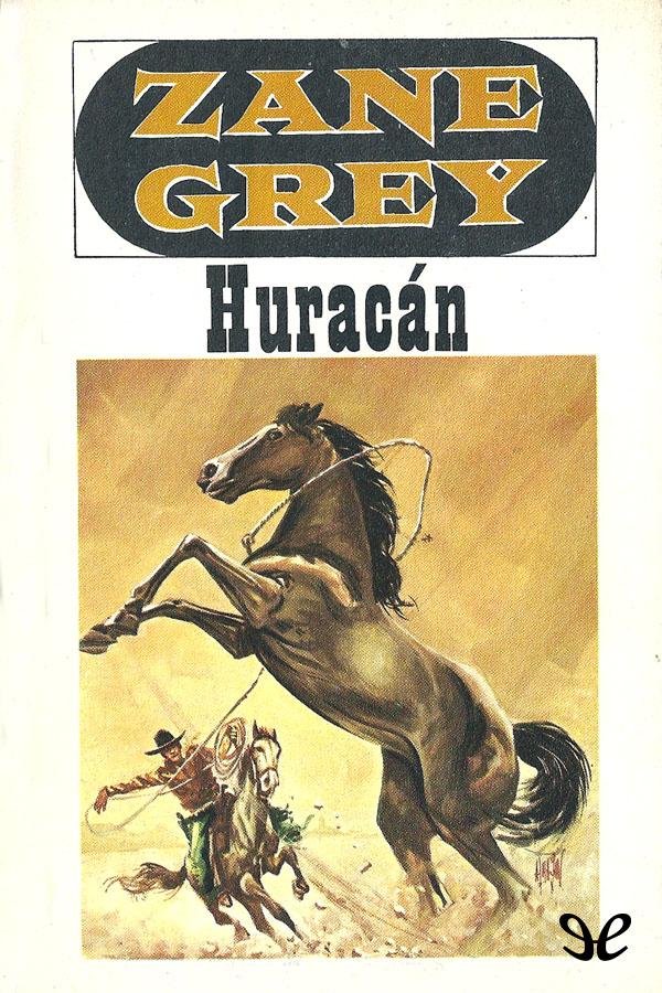 tapa de Grey, Zane - Hurac�n