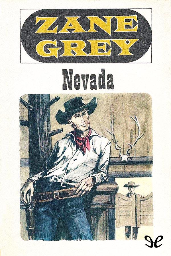 tapa de Grey, Zane - Nevada