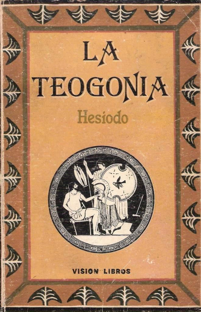 tapa de Hes�odo - Teogon�a