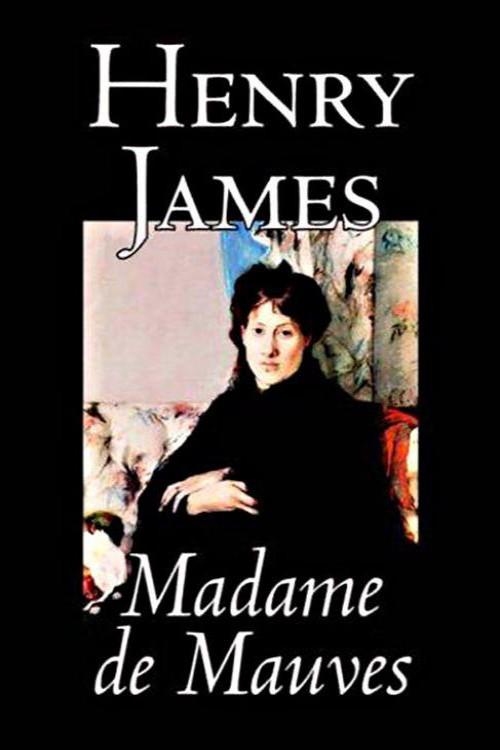 tapa de James, Henry - Madame de Mauves
