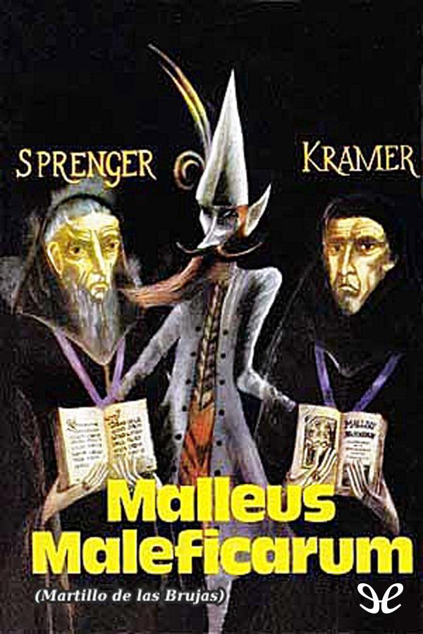 tapa de Kramer, Heinrich - Malleus Maleficarum