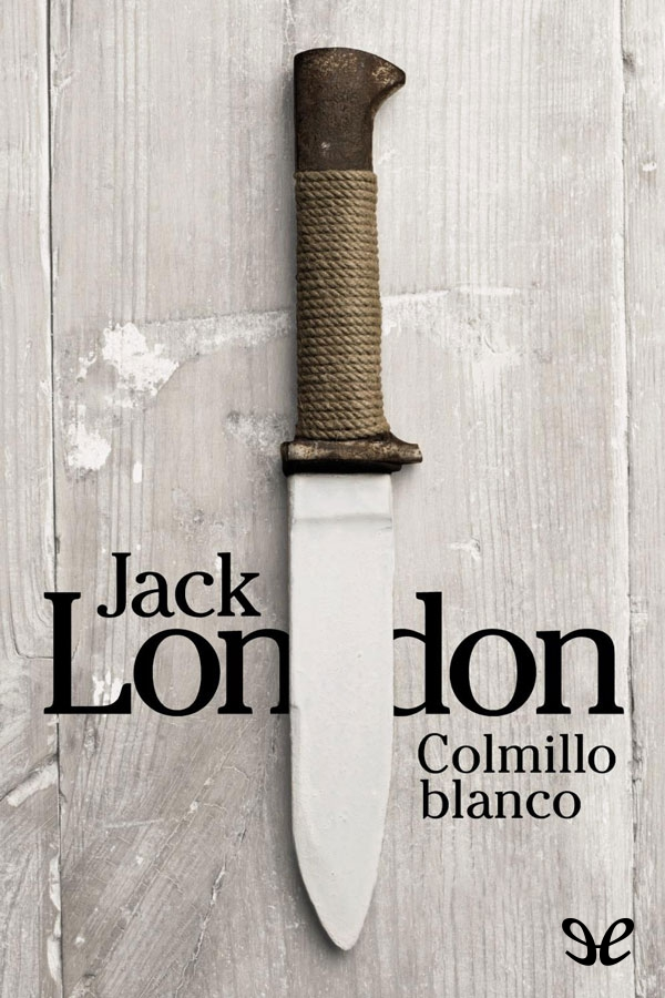 tapa de London, Jack - Colmillo blanco