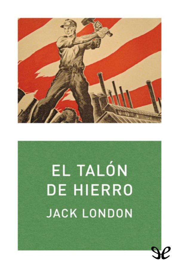tapa de London, Jack - El Tal�n de Hierro