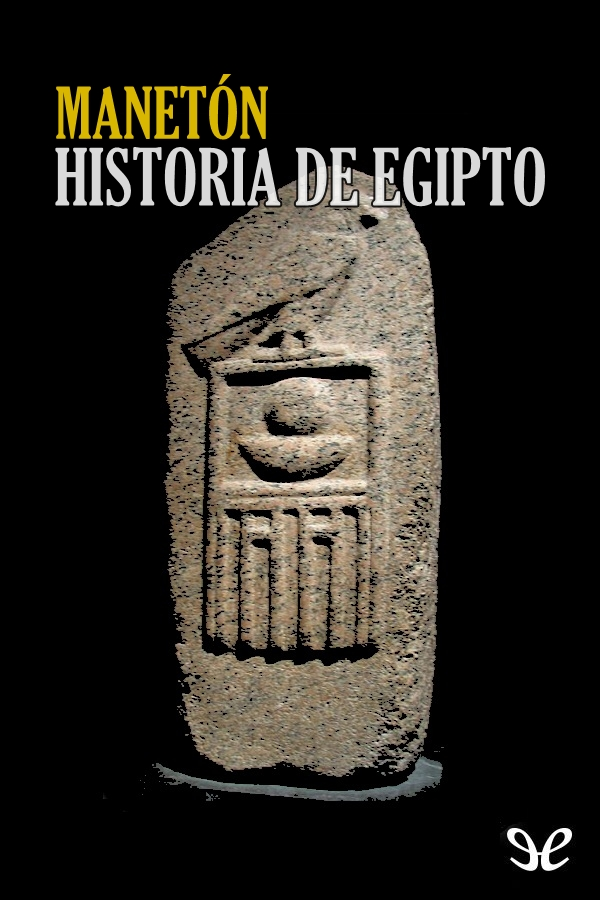 Manet�n - Historia de Egipto