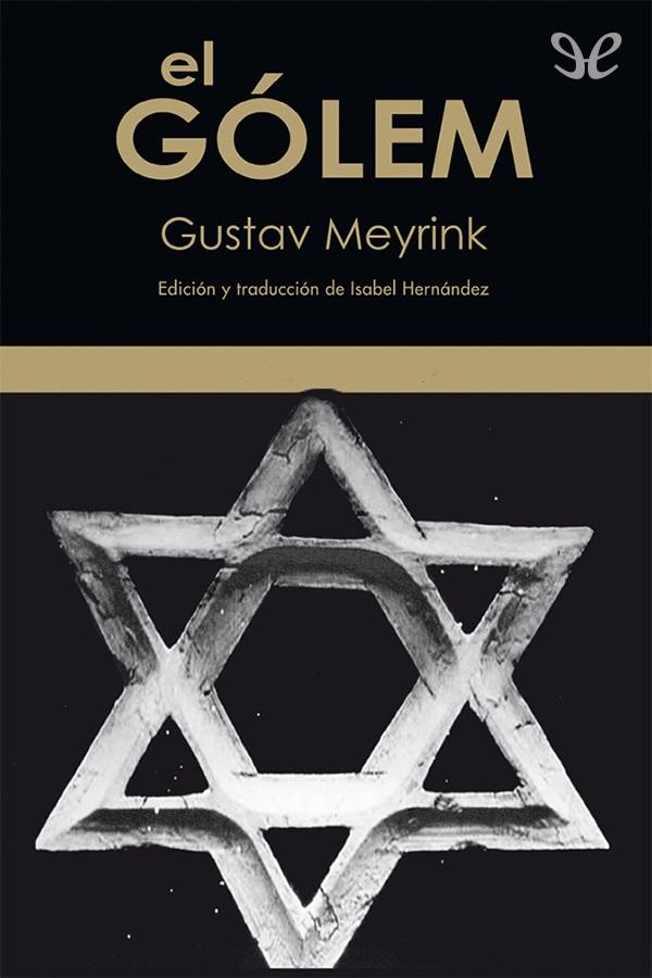 Meyrink, Gustav - El Golem
