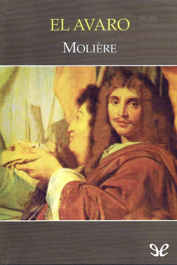 tapa de Moliere - El Avaro