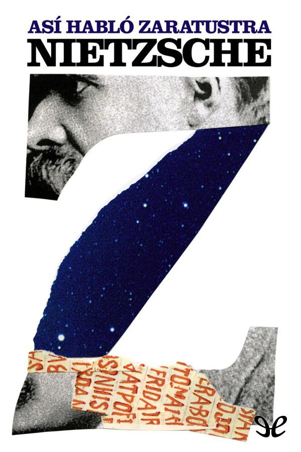 tapa de Nietzsche, Friedrich Wilhelm - As� habl� Zaratustra
