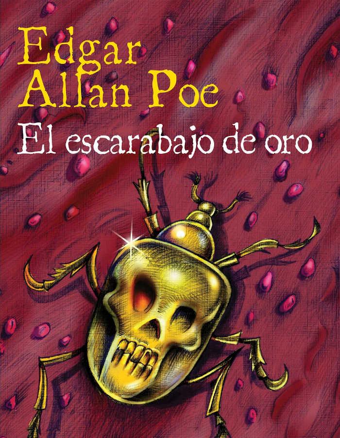 tapa de Poe, Edgar Allan - El escarabajo de oro (Ilustrado)