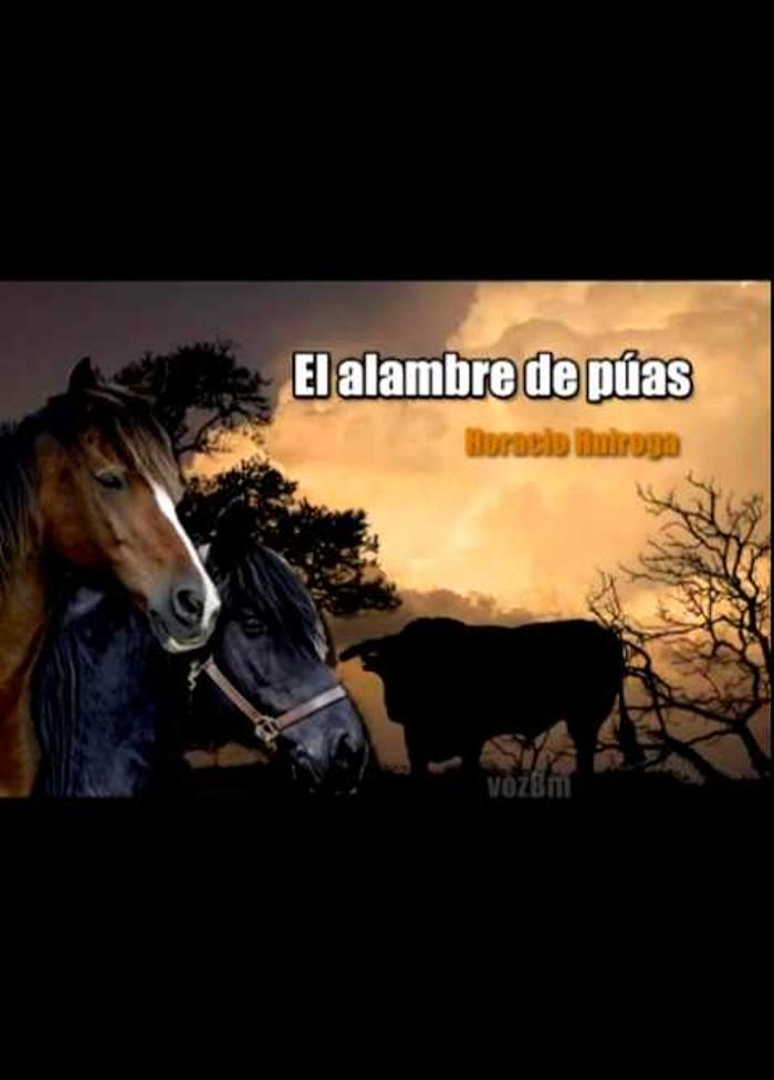 tapa de Quiroga, Horacio - El Alambre de p�as
