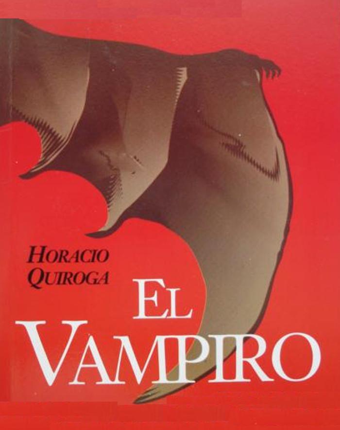 tapa de Quiroga, Horacio - El vampiro