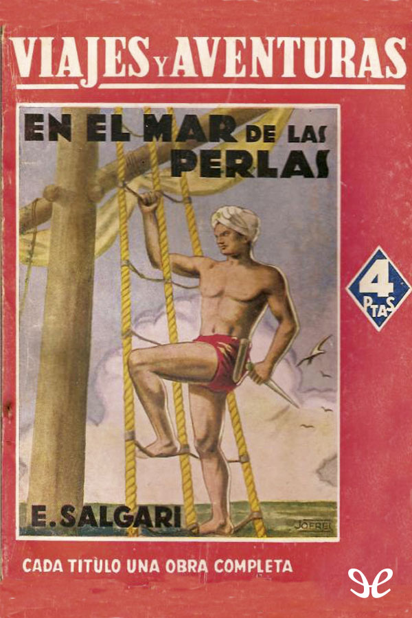 tapa de Salgari, Emilio - En El Mar de las Perlas