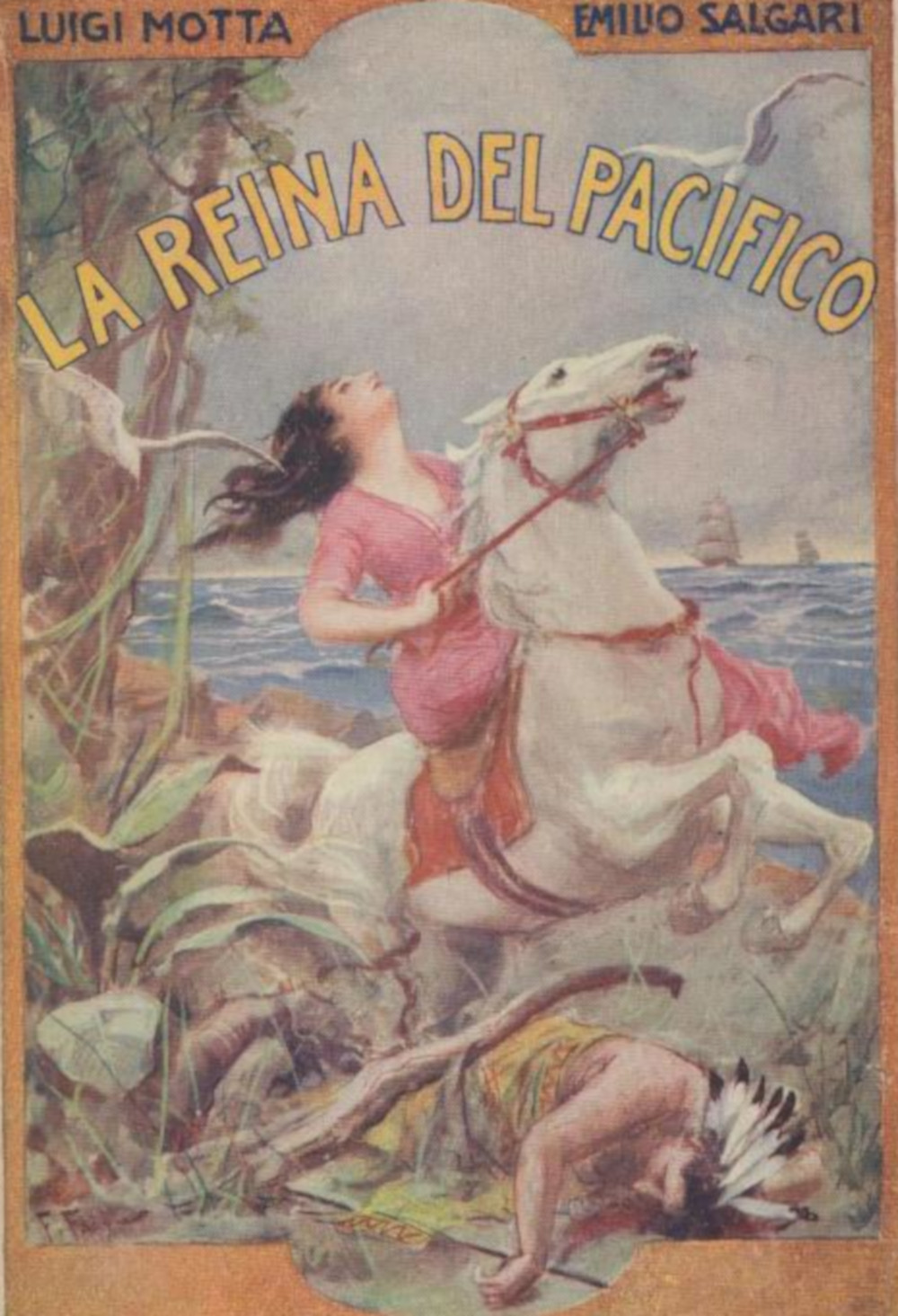 Salgari, Emilio - Versi�n Infantil)) La Reina del Pac�fico (Ilustrado