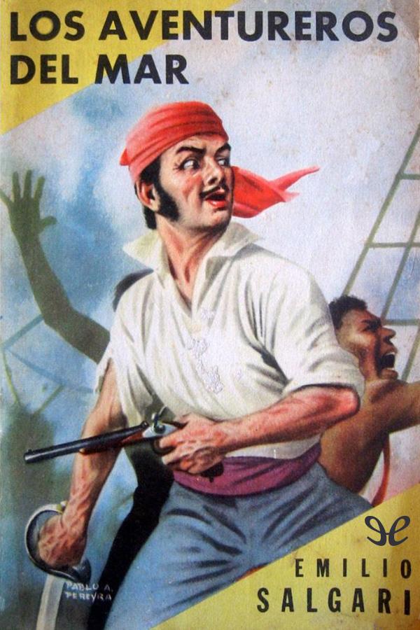 tapa de Salgari, Emilio - Los aventureros del mar