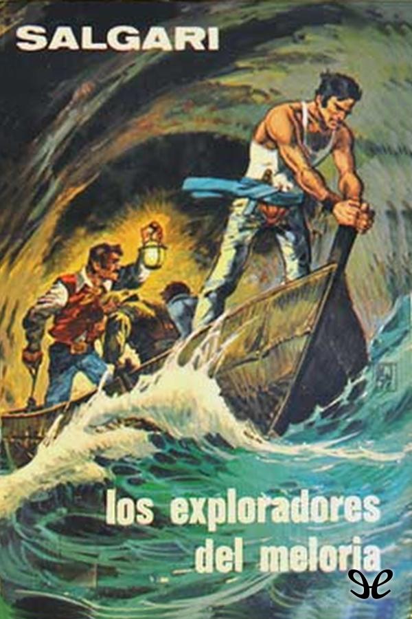 tapa de Salgari, Emilio - Los Exploradores del Meloria