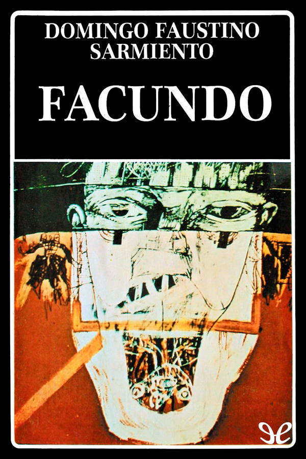 tapa de Sarmiento, Domingo Faustino - Facundo