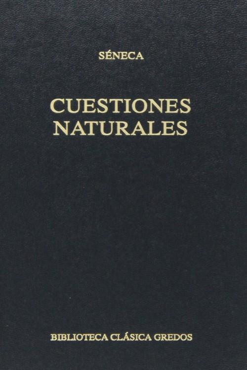 tapa de S�neca - Cuestiones naturales