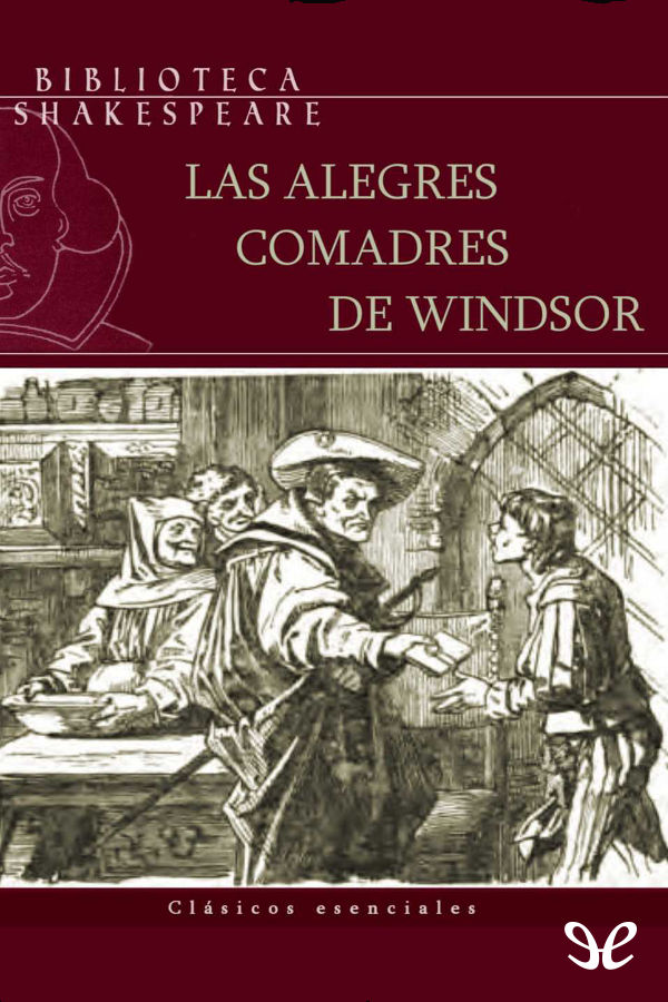 tapa de Shakespeare, William - Las alegres comadres de Windsor