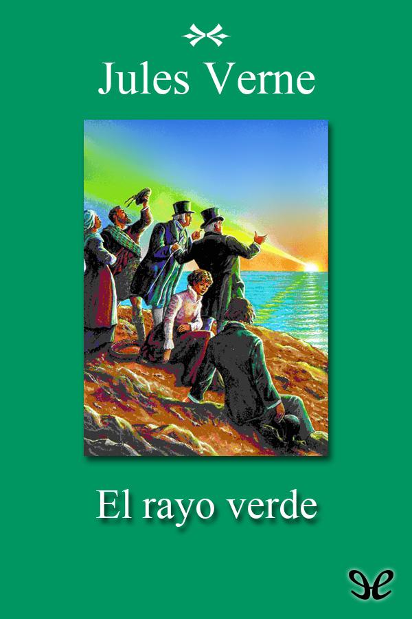 tapa de Verne, Julio - El Rayo verde