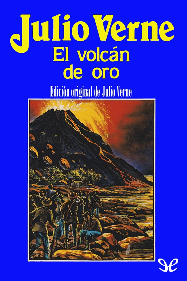 tapa de Verne, Julio - El Volc�n de oro
