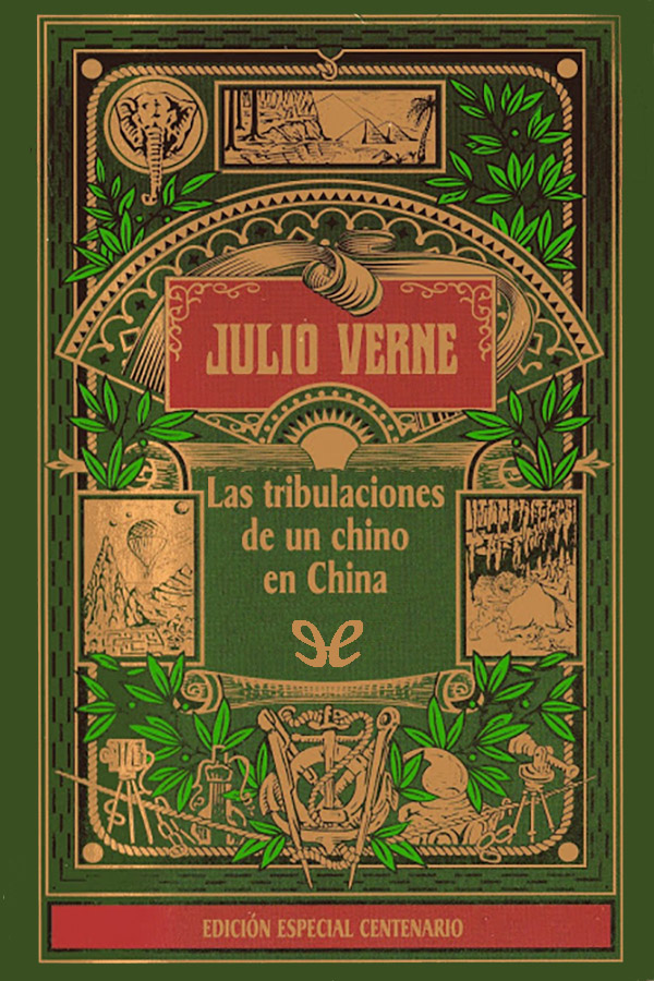 tapa de Verne, Julio - Las Tribulaciones de un chino en China