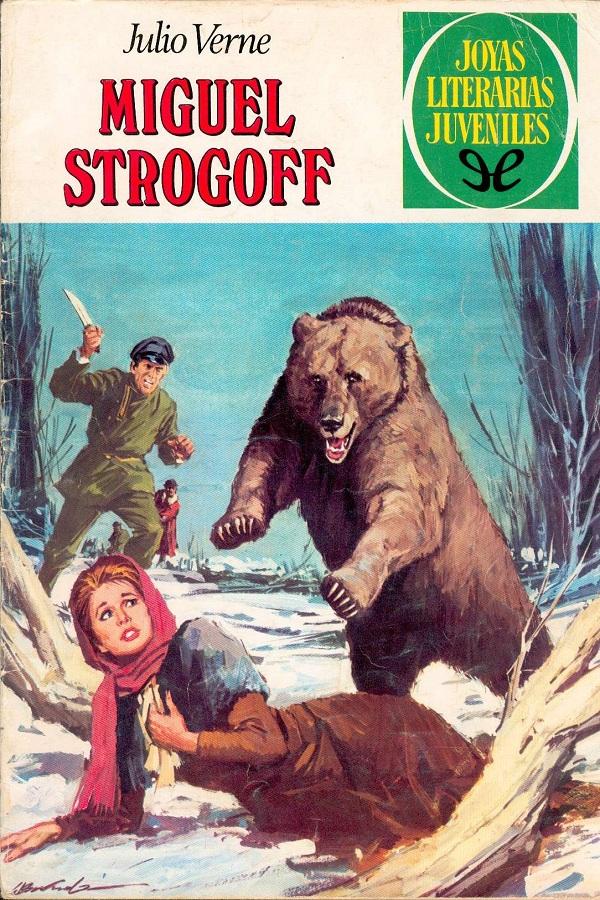 tapa de Verne, Julio - Miguel Strogoff