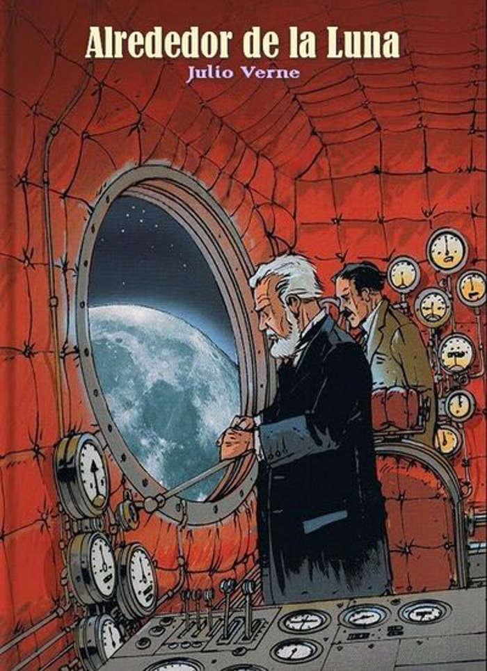 tapa de Verne, Julio - Viaje alrededor de la luna