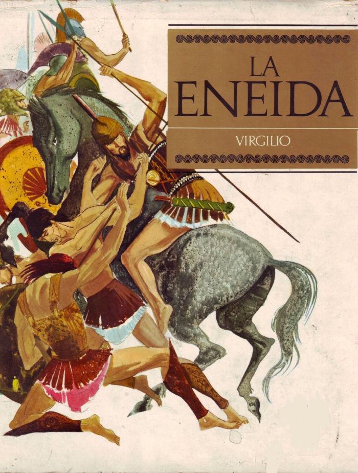 tapa de Virgilio - La Eneida
