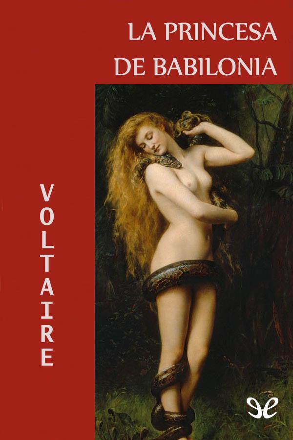tapa de Voltaire - La princesa de Babilonia