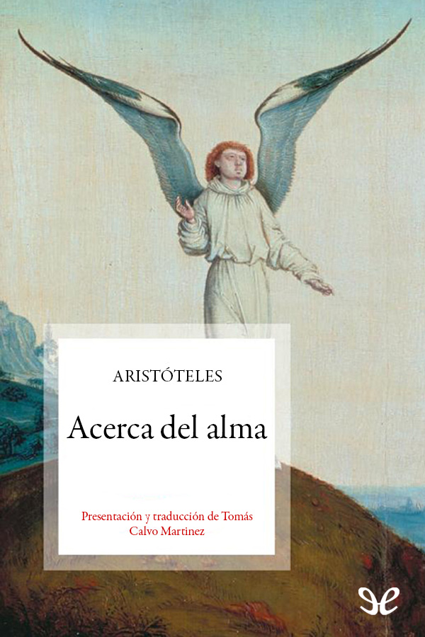 Arist�teles - Acerca del Alma